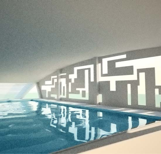 CH Architects LLP, London :: Eight Ash Green - Swimming ...
